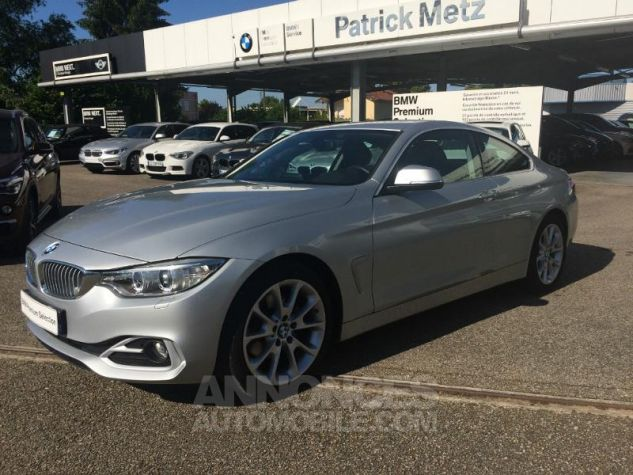 BMW Série 4 Coupe 420d 184ch Modern GLACIERSILBER METALISEE Occasion - 0