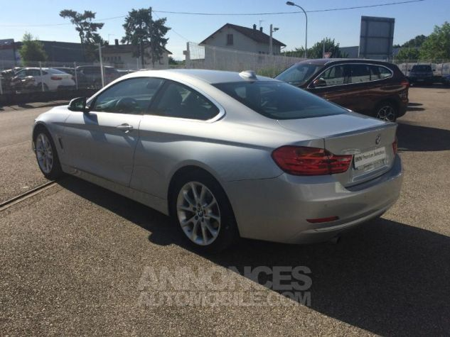 BMW Série 4 Coupe 420d 184ch Modern GLACIERSILBER METALISEE Occasion - 1