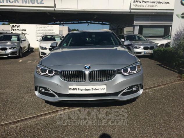 BMW Série 4 Coupe 420d 184ch Modern GLACIERSILBER METALISEE Occasion - 3