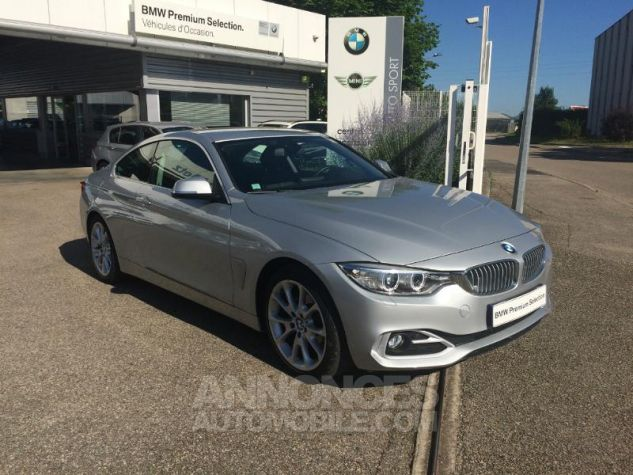BMW Série 4 Coupe 420d 184ch Modern GLACIERSILBER METALISEE Occasion - 4