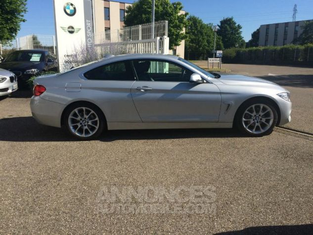 BMW Série 4 Coupe 420d 184ch Modern GLACIERSILBER METALISEE Occasion - 5