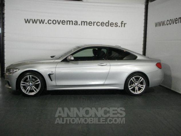 BMW Série 4 Coupe 420dA xDrive 184ch M Sport Gris Clair Métal Occasion - 1