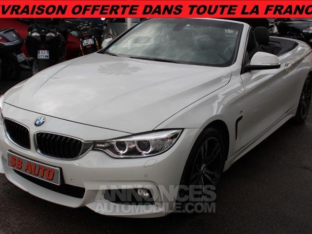 BMW Série 4 F33 420DA 184CH M SPORT BLANC Occasion - 0