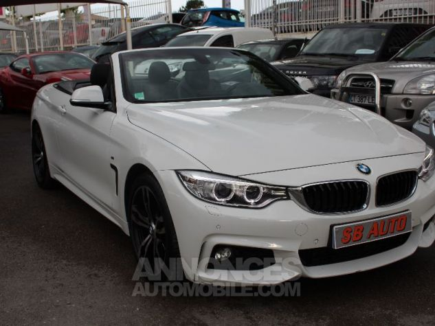 BMW Série 4 F33 420DA 184CH M SPORT BLANC Occasion - 1