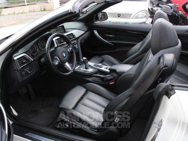 BMW Série 4 F33 420DA 184CH M SPORT BLANC Occasion - 4