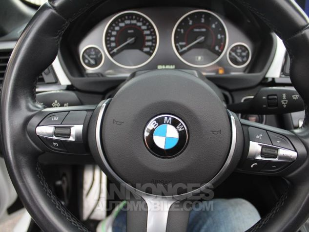 BMW Série 4 F33 420DA 184CH M SPORT BLANC Occasion - 8