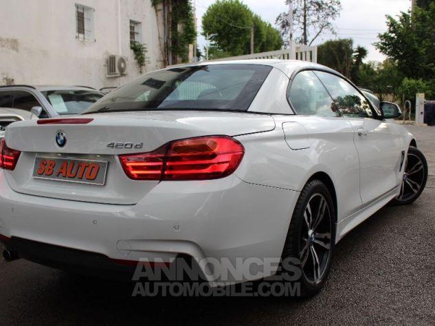 BMW Série 4 F33 420DA 184CH M SPORT BLANC Occasion - 17