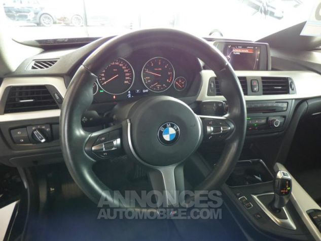 BMW Série 4 Gran Coupe 418dA 150ch Lounge Schwarz uni Occasion - 7