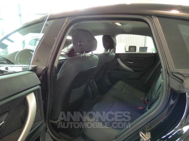 BMW Série 4 Gran Coupe 418dA 150ch Lounge Schwarz uni Occasion - 9