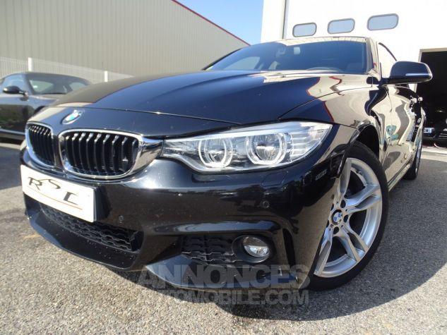 BMW Série 4 Gran Coupe 420D BVA XDRIVE 190PS PACK M/ FULL Options noir metallisé Occasion - 1