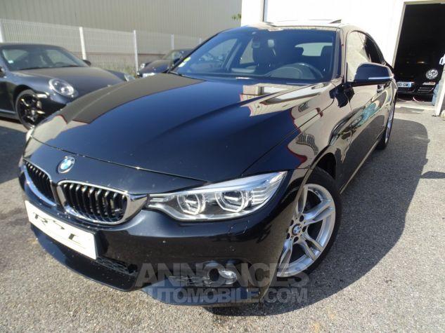 BMW Série 4 Gran Coupe 420D BVA XDRIVE 190PS PACK M/ FULL Options noir metallisé Occasion - 2