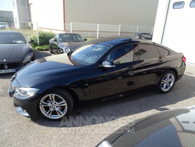 BMW Série 4 Gran Coupe 420D BVA XDRIVE 190PS PACK M/ FULL Options noir metallisé Occasion - 4