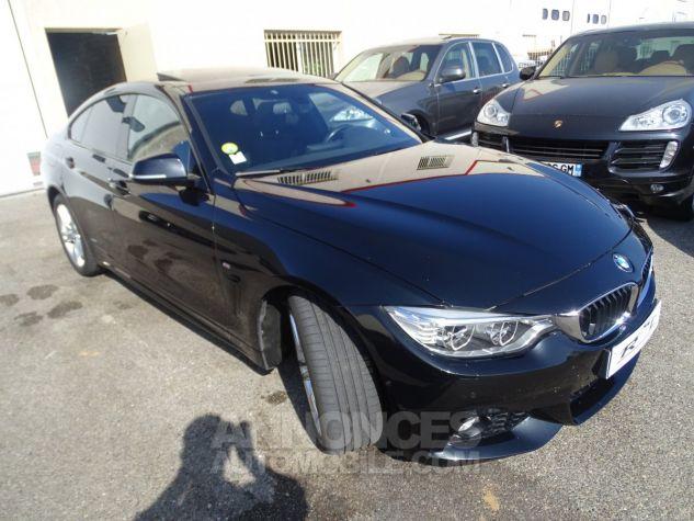 BMW Série 4 Gran Coupe 420D BVA XDRIVE 190PS PACK M/ FULL Options noir metallisé Occasion - 5