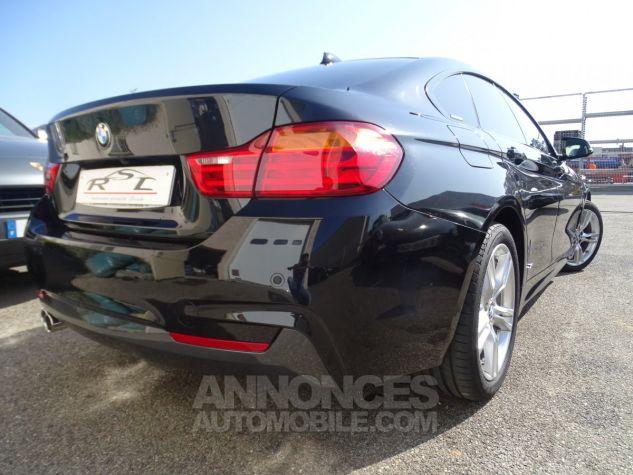 BMW Série 4 Gran Coupe 420D BVA XDRIVE 190PS PACK M/ FULL Options noir metallisé Occasion - 6