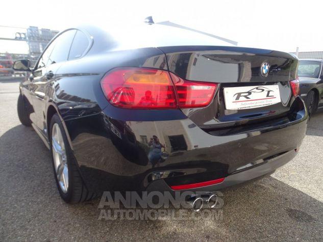 BMW Série 4 Gran Coupe 420D BVA XDRIVE 190PS PACK M/ FULL Options noir metallisé Occasion - 8