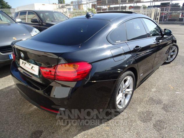BMW Série 4 Gran Coupe 420D BVA XDRIVE 190PS PACK M/ FULL Options noir metallisé Occasion - 9