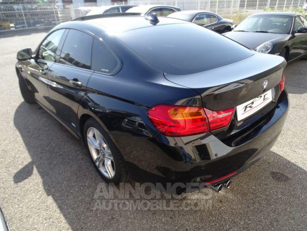 BMW Série 4 Gran Coupe 420D BVA XDRIVE 190PS PACK M/ FULL Options noir metallisé Occasion - 10
