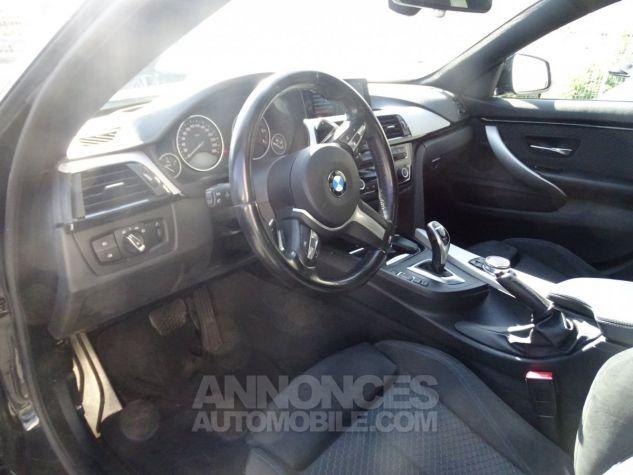 BMW Série 4 Gran Coupe 420D BVA XDRIVE 190PS PACK M/ FULL Options noir metallisé Occasion - 11