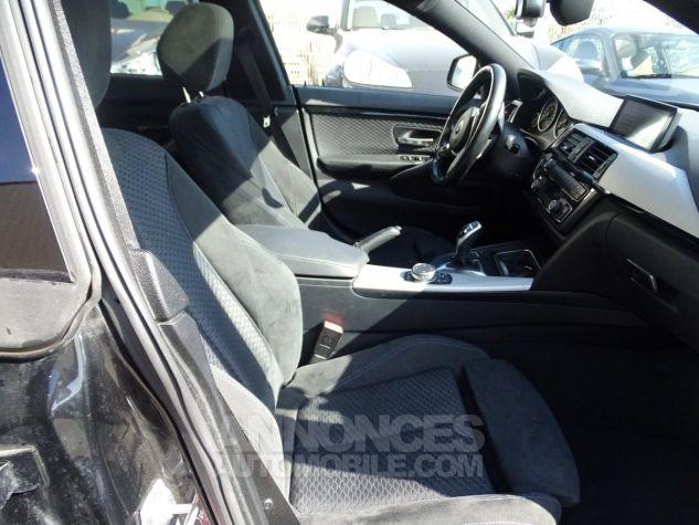 BMW Série 4 Gran Coupe 420D BVA XDRIVE 190PS PACK M/ FULL Options noir metallisé Occasion - 13