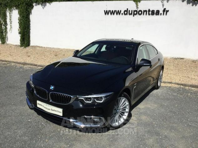 BMW Série 4 Gran Coupe 420dA xDrive 190ch Luxury Saphirschwarz Métal Occasion - 0