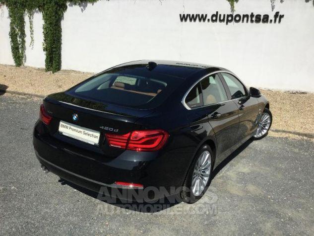BMW Série 4 Gran Coupe 420dA xDrive 190ch Luxury Saphirschwarz Métal Occasion - 1