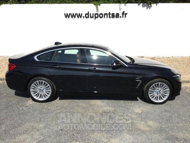 BMW Série 4 Gran Coupe 420dA xDrive 190ch Luxury Saphirschwarz Métal Occasion - 9