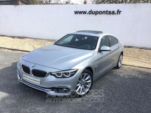 BMW Série 4 Gran Coupe 420dA xDrive 190ch Luxury GRIS C Occasion - 0