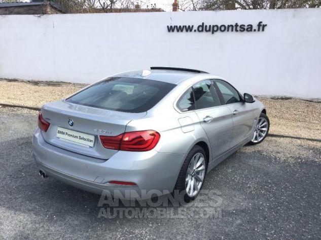 BMW Série 4 Gran Coupe 420dA xDrive 190ch Luxury GRIS C Occasion - 1