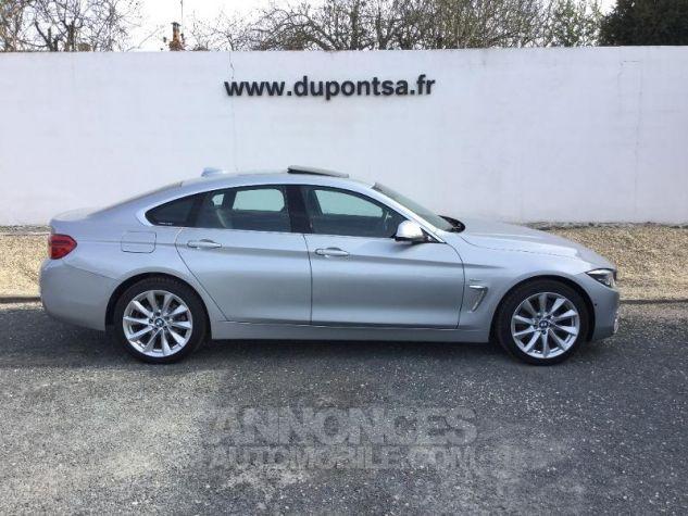 BMW Série 4 Gran Coupe 420dA xDrive 190ch Luxury GRIS C Occasion - 10