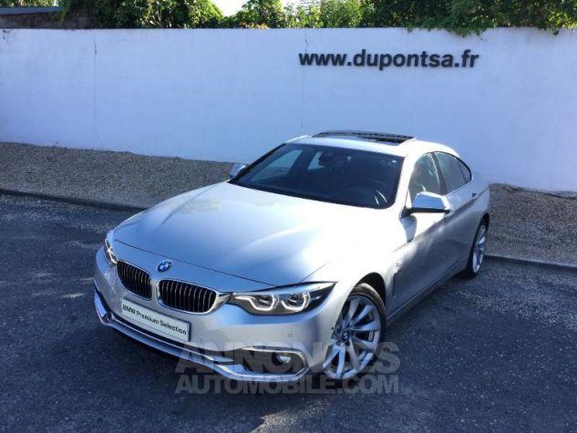 BMW Série 4 Gran Coupe 420dA xDrive 190ch Luxury Euro6d-T GRIS C Occasion - 0
