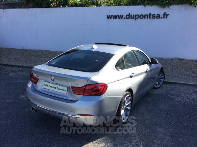 BMW Série 4 Gran Coupe 420dA xDrive 190ch Luxury Euro6d-T GRIS C Occasion - 1