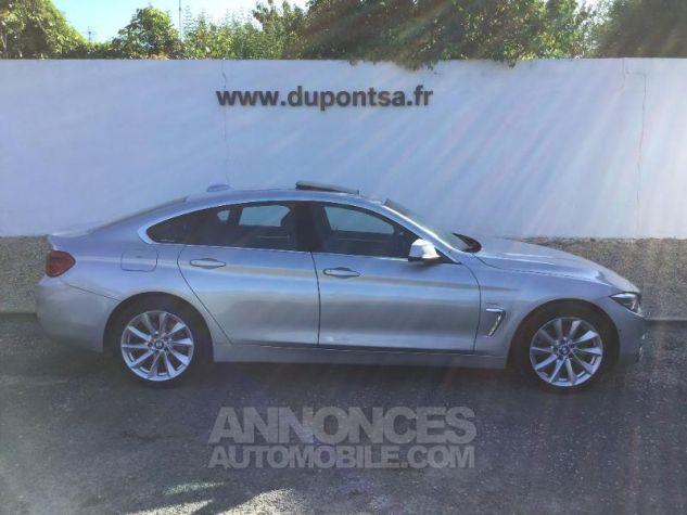 BMW Série 4 Gran Coupe 420dA xDrive 190ch Luxury Euro6d-T GRIS C Occasion - 10