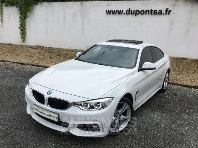 BMW Série 4 Gran Coupe 430dA 258ch M Sport BLANC Occasion - 0