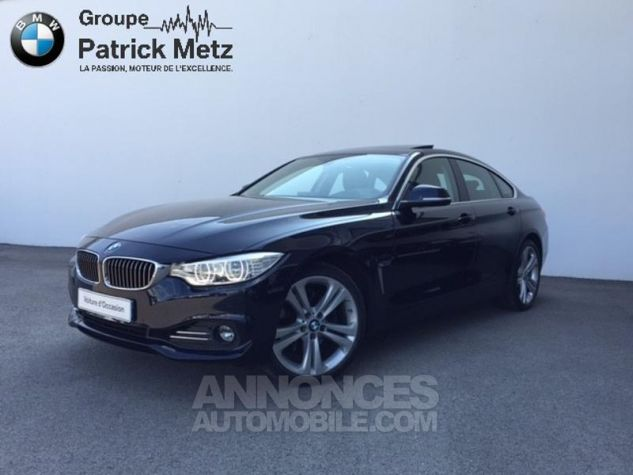 BMW Série 4 Gran Coupe 430dA xDrive 258ch Luxury Imperialblau brillant metallis Occasion - 0