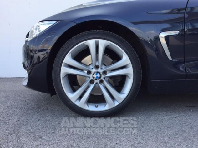 BMW Série 4 Gran Coupe 430dA xDrive 258ch Luxury Imperialblau brillant metallis Occasion - 9