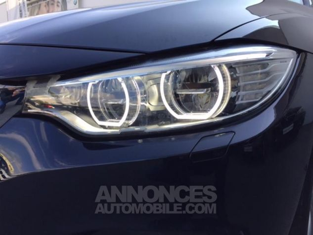 BMW Série 4 Gran Coupe 430dA xDrive 258ch Luxury Imperialblau brillant metallis Occasion - 11