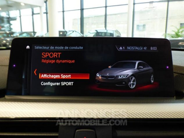 BMW Série 4 Gran Coupe 430dA xDrive 258ch M Sport Mineralgrau metallise Occasion - 13