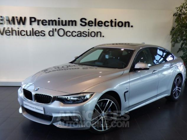 BMW Série 4 Gran Coupe 430iA xDrive 252ch M Sport Glaciersilber metallise Occasion - 0