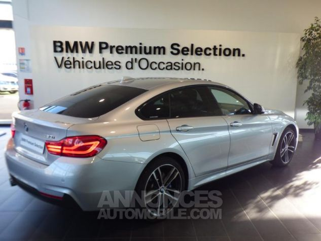 BMW Série 4 Gran Coupe 430iA xDrive 252ch M Sport Glaciersilber metallise Occasion - 1