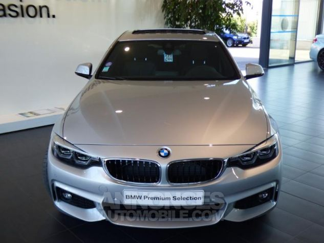 BMW Série 4 Gran Coupe 430iA xDrive 252ch M Sport Glaciersilber metallise Occasion - 3