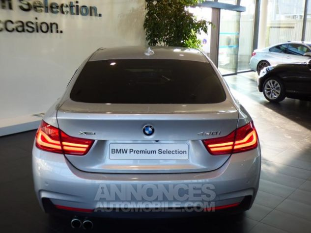 BMW Série 4 Gran Coupe 430iA xDrive 252ch M Sport Glaciersilber metallise Occasion - 4