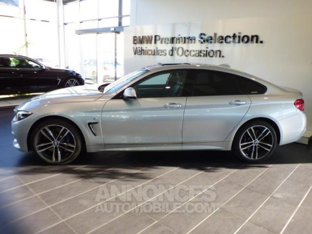 BMW Série 4 Gran Coupe 430iA xDrive 252ch M Sport Glaciersilber metallise Occasion - 5