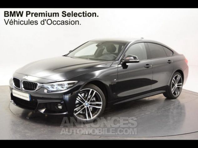 BMW Série 4 Gran Coupe 430iA xDrive 252ch M Sport Euro6d-T Carbonshwarz Occasion - 0