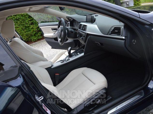 BMW Série 4 Gran Coupe 435 i 306 ch 1 MAIN !!! bleu Occasion - 7