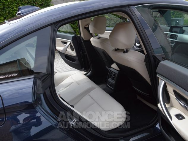 BMW Série 4 Gran Coupe 435 i 306 ch 1 MAIN !!! bleu Occasion - 10