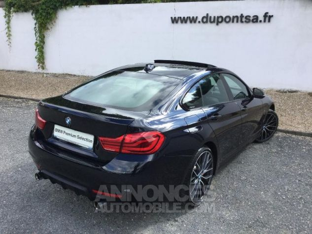 BMW Série 4 Gran Coupe 440iA xDrive 326ch M Sport NOIR Occasion - 1