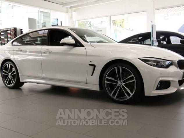 BMW Série 4 Gran Coupe F36 420DA 190CH M SPORT BLANC Occasion - 1