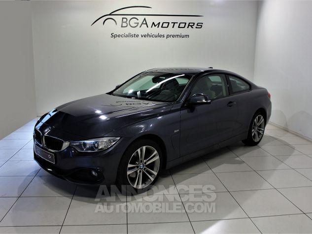 BMW Série 4 SERIE COUPE (F32) 420DA XDRIVE 190CH SPORT Gris Occasion - 0