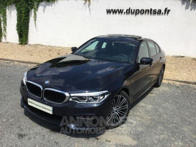BMW Série 5 520dA 190ch M Sport Steptronic Carbonschwarz 3 Métal Occasion - 0