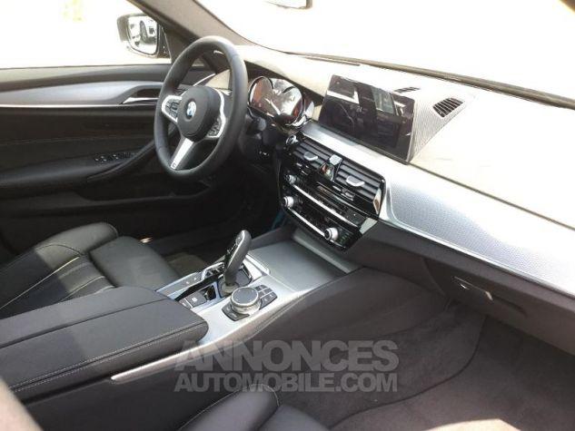 BMW Série 5 520dA 190ch M Sport Steptronic Carbonschwarz 3 Métal Occasion - 2